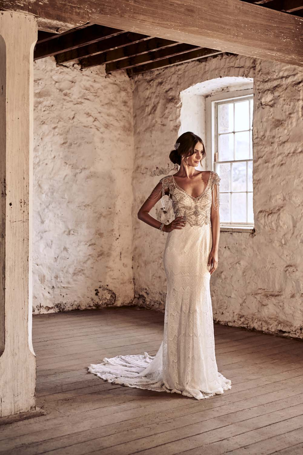 Grace in Fit and flare lace