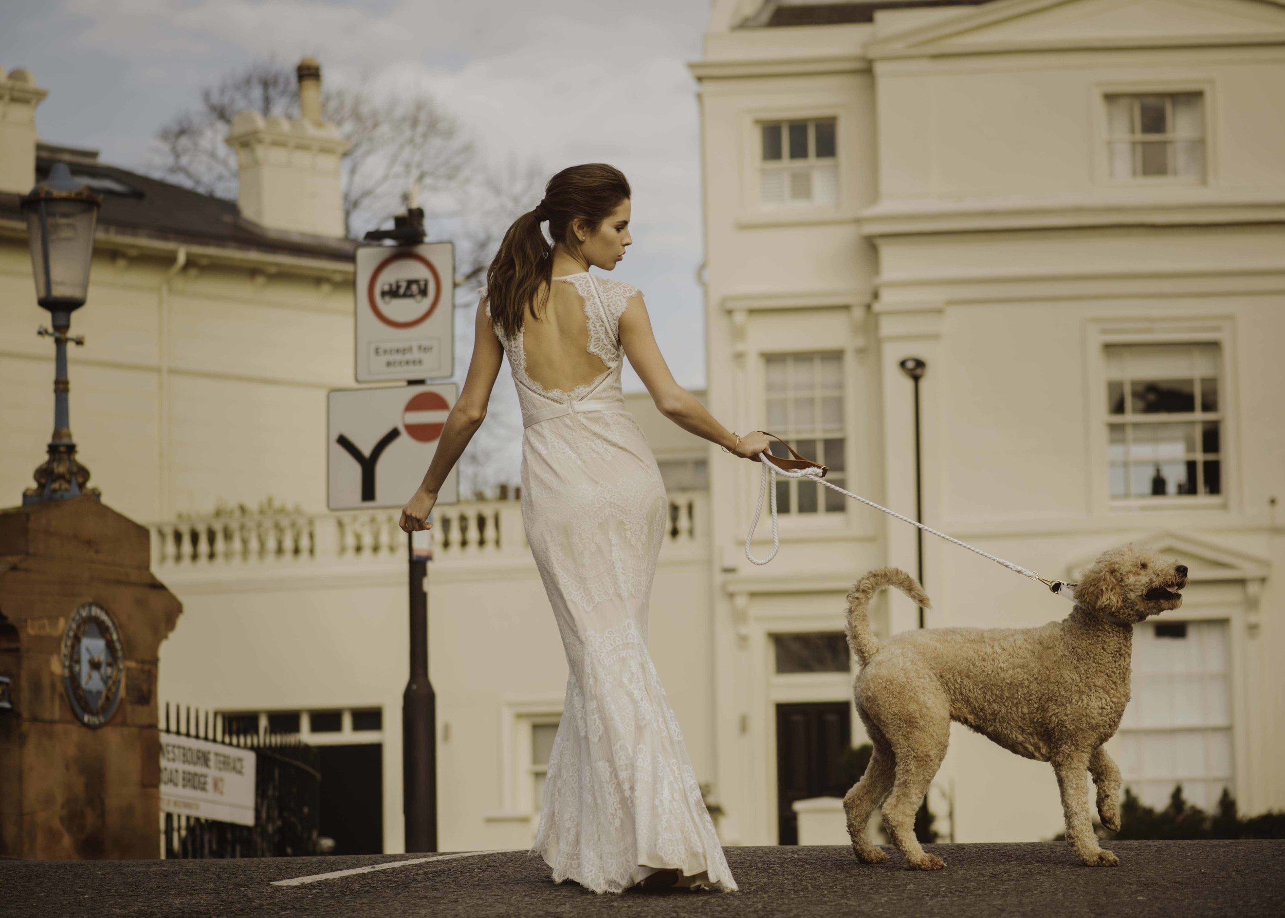 Bohemian Simple And Minimalist Wedding Dresses Frieda Brides Bridal Shop Singapore