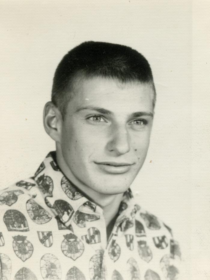 Ernie's son, Herb, in High School