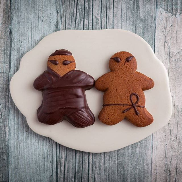 Ginger Ninja - Gingerbread men trained in the ancient art of ninjutsu. They sometimes wears a costume of dark chocolate. They like to dress up for special occasions like Halloween and Mardi Gras.