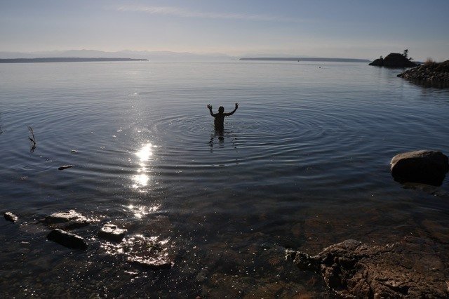 Swimming joy