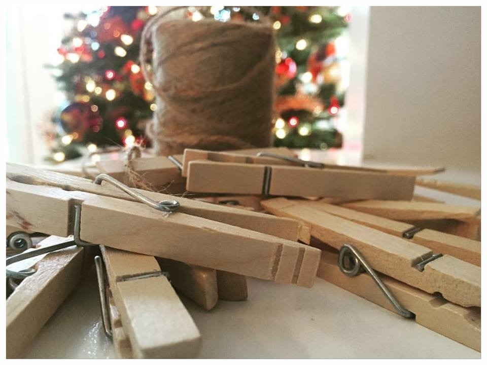 Twine & Clothes Pins