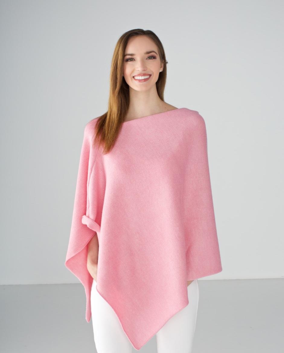 Light Pink Poncho