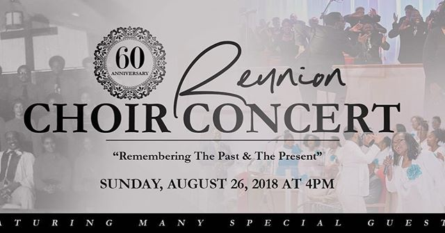 Come and worship with us at our 60th Anniversary Reunion Concert!!