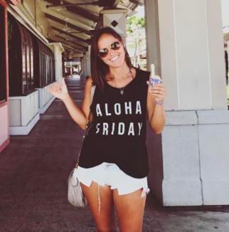 Aloha Friday shirt by @sticksandpohaku