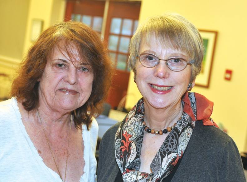 Christine Wilson and Anne-Marie Lawrence
