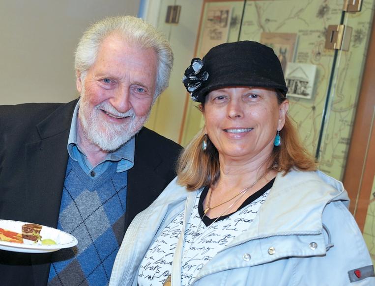 Ivan Leonard and Mary Tasi