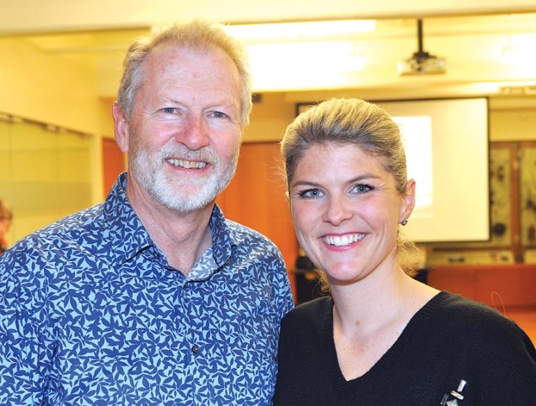 Grant Stuart Gardiner and daughter Kyla Gardiner
