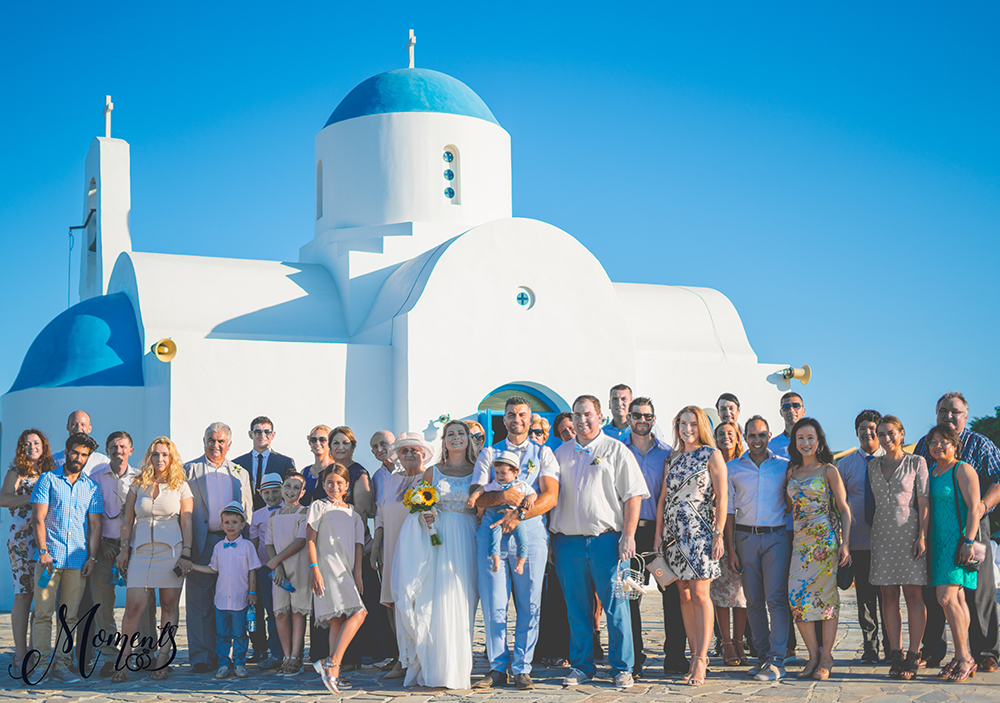 experienced wedding videographer Protaras Cyprus