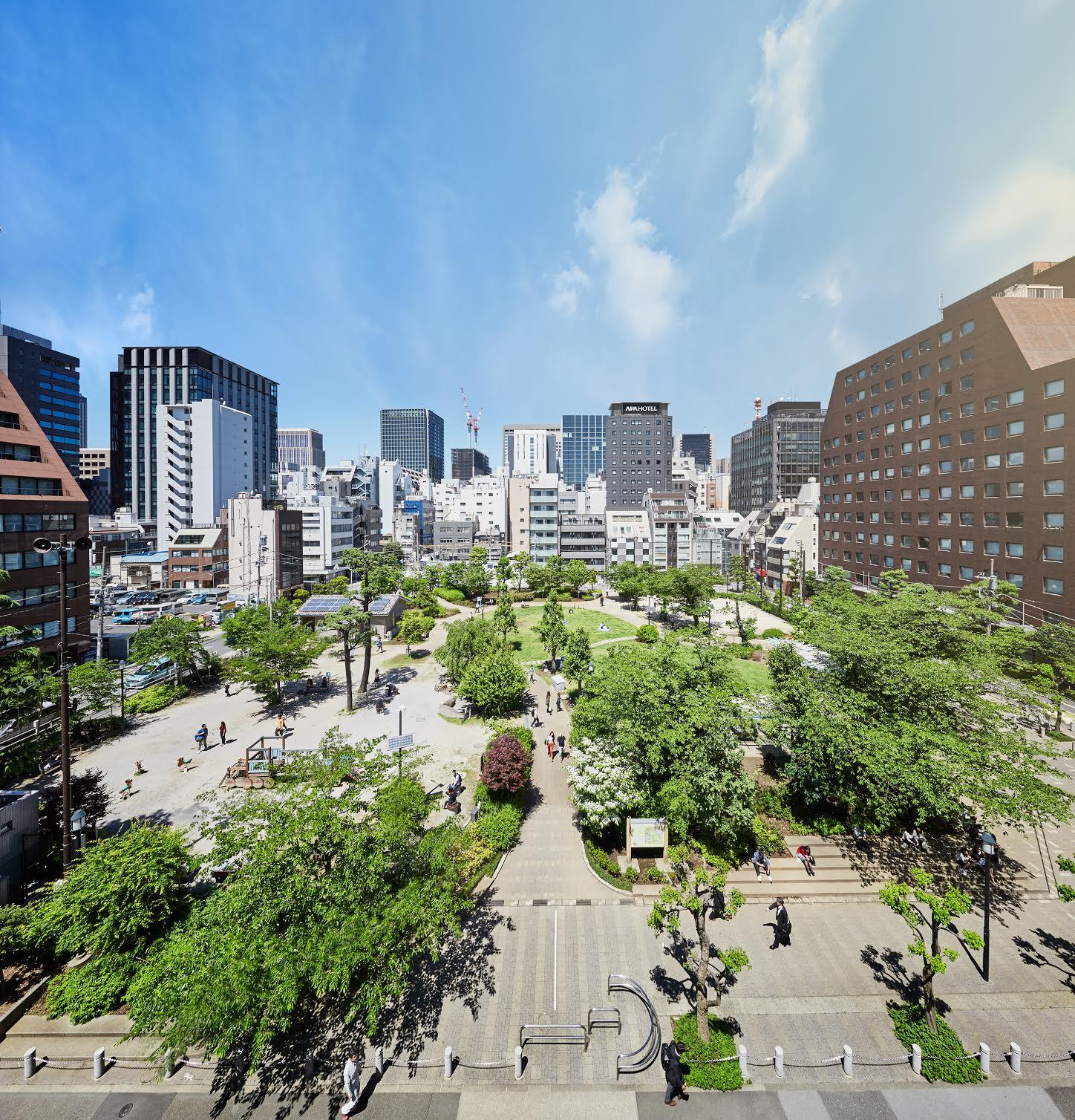 Area Development & Visioning - Shintora, Tokyo   Role: Vision Development for 2020