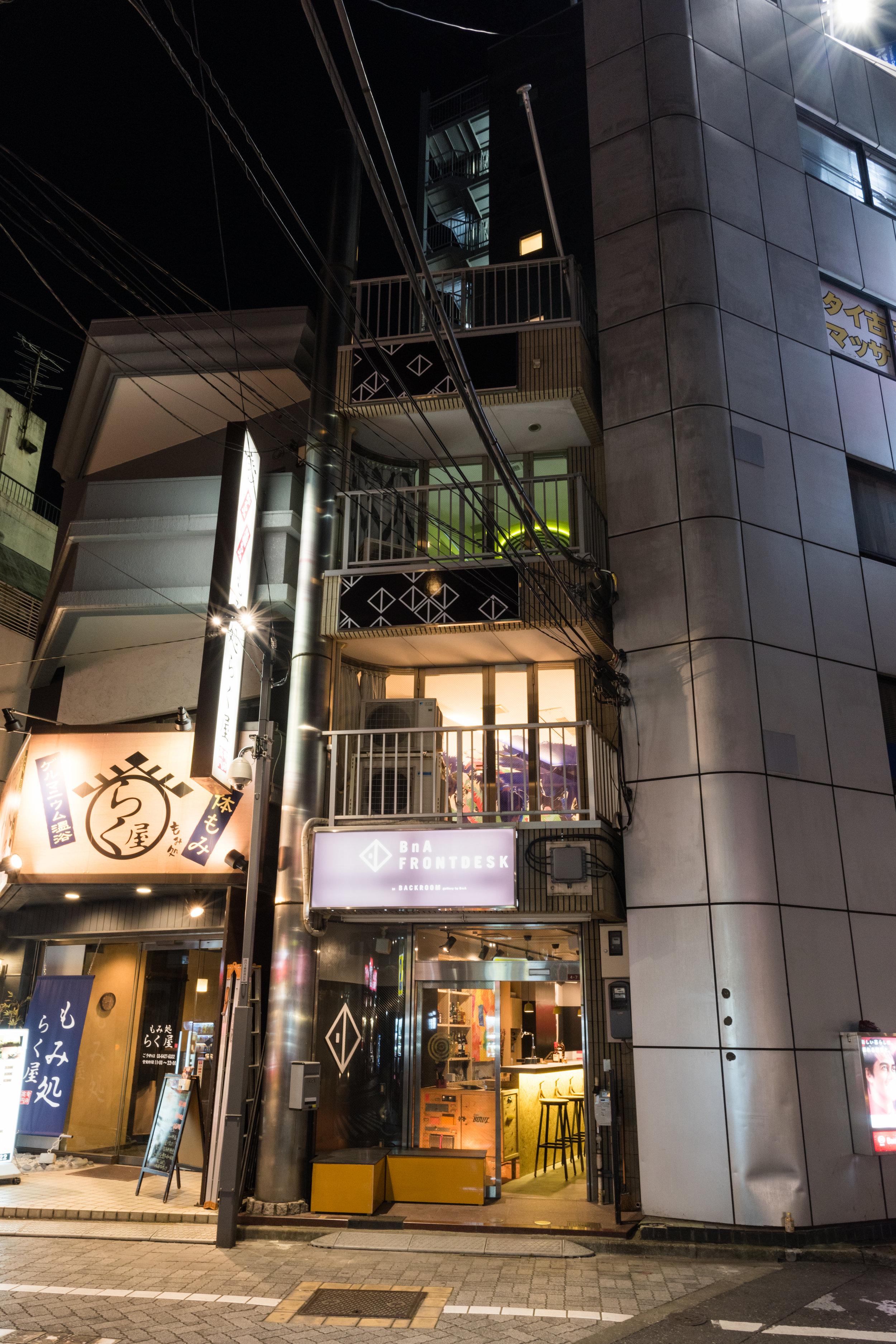 City Scale Hotel Concept - BnA Koenji   Role: Concept Development & Execution