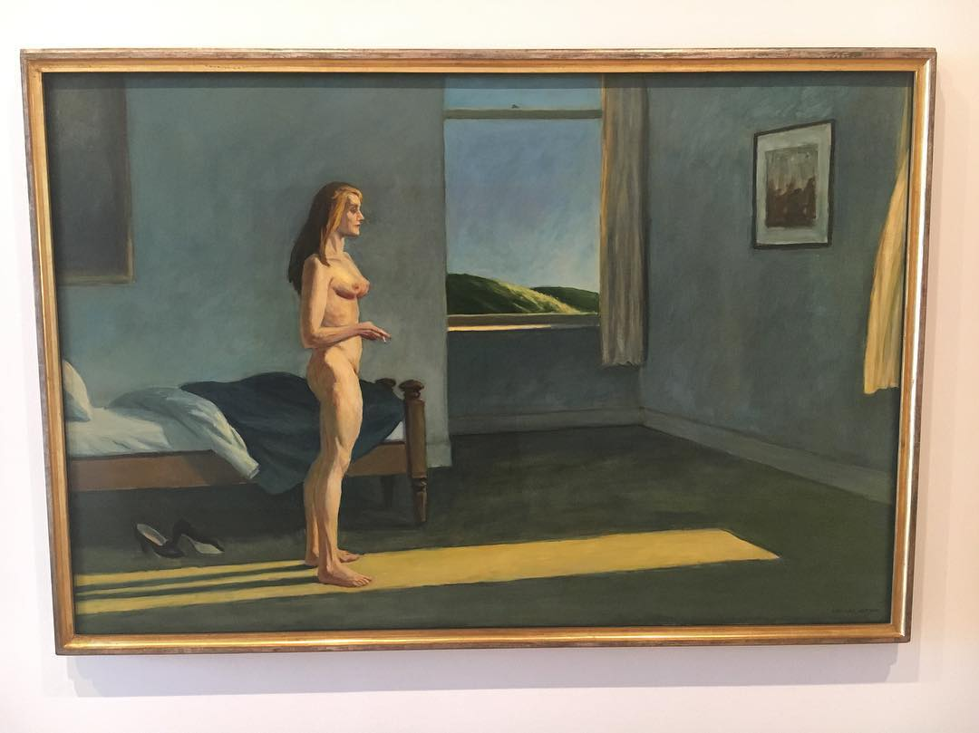 A Woman In The Sun , 1981,Edward Hopper