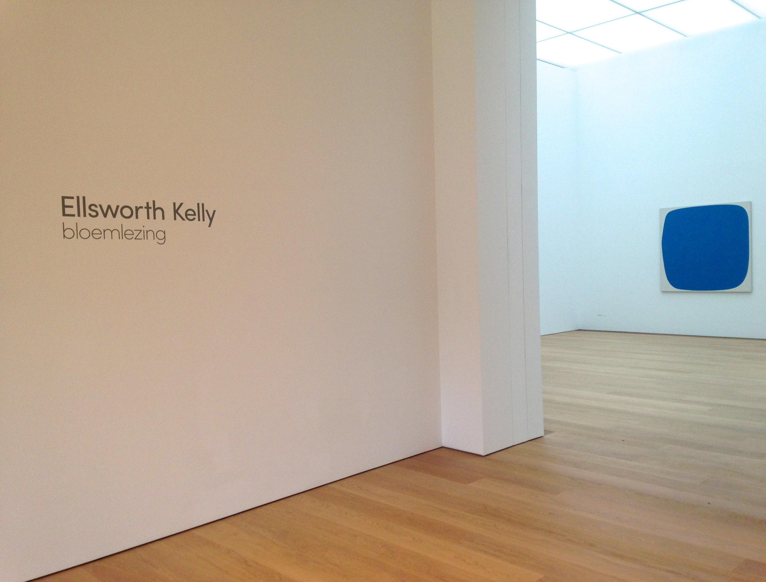 Ellsworth Kelly,  Blue Ripe  (1959)