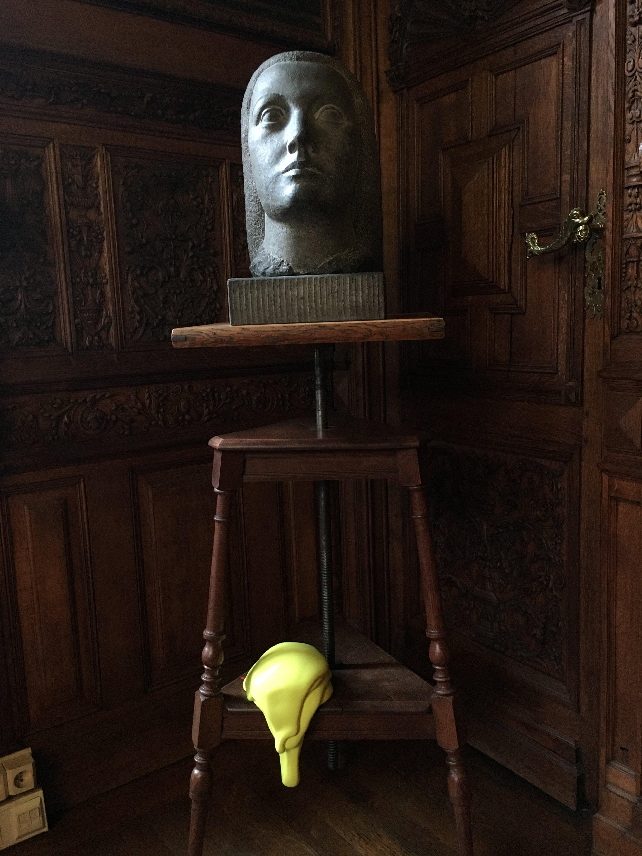 Léopoldine Roux, Color Escaped  dans la salle Renaissance de la Maison des Arts de Schaerbeek.