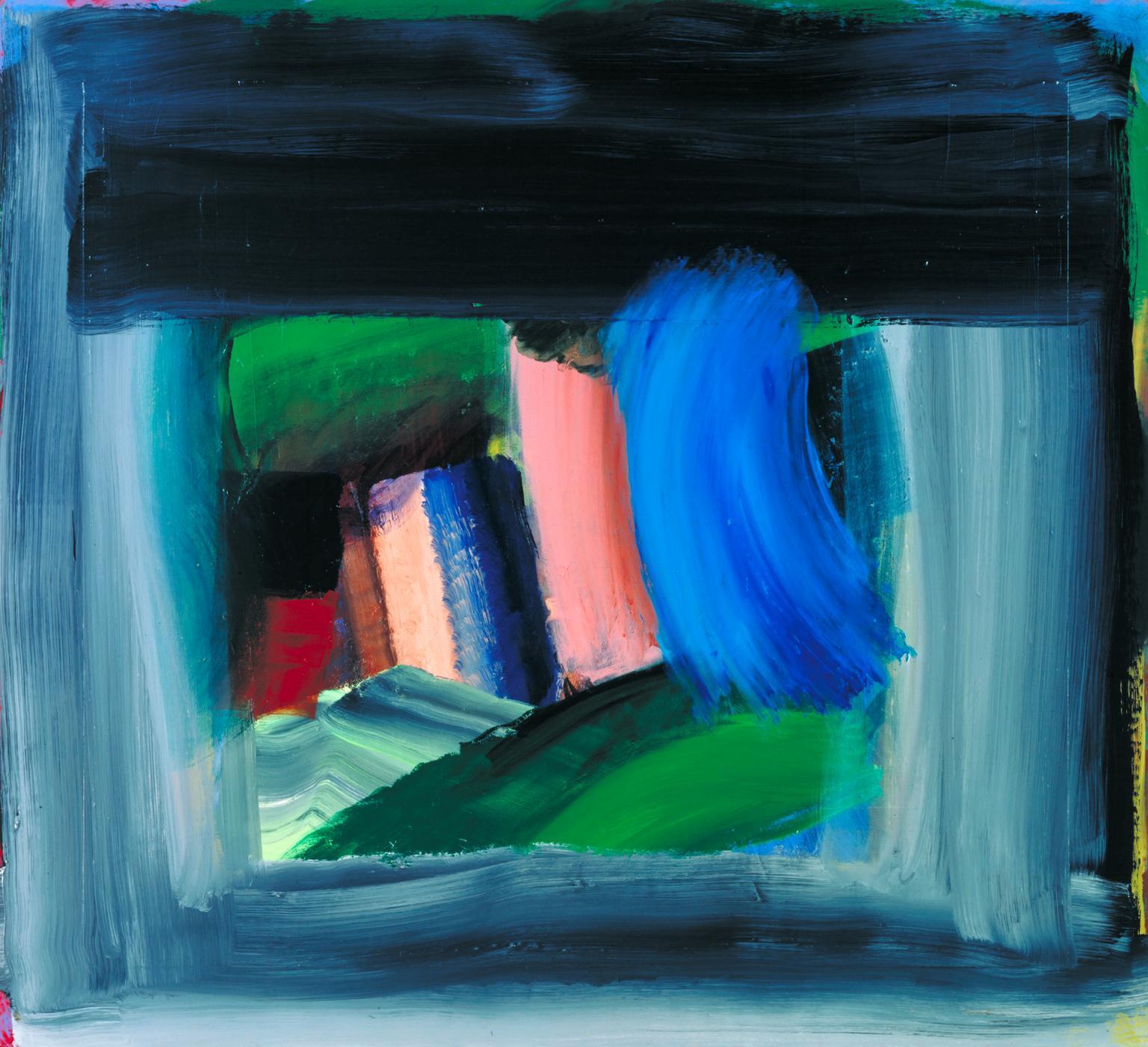 Howard Hodgkin, Rain, 1988-1989