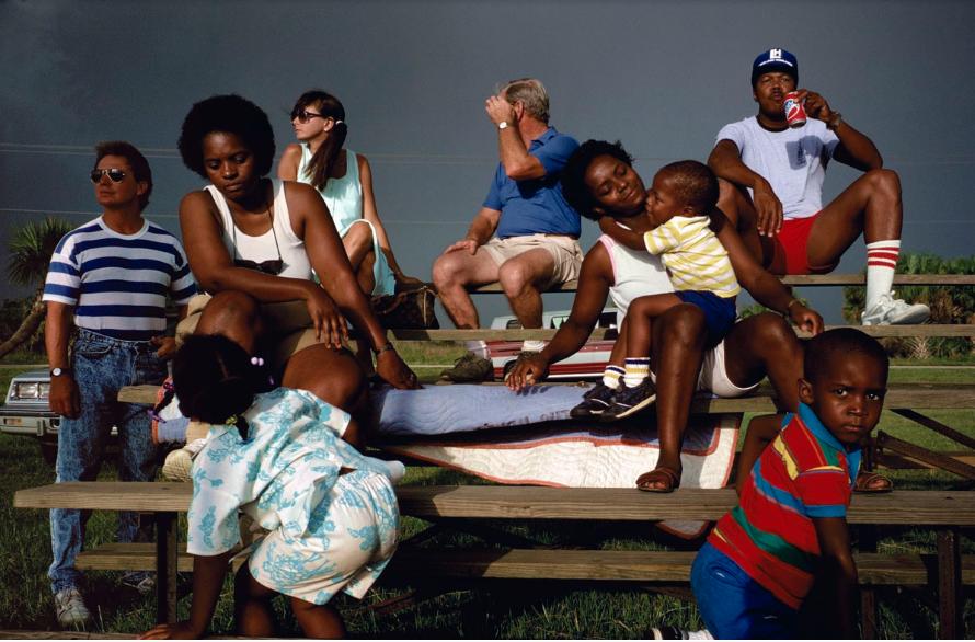 Alex Webb,   Plant City, Florida 1989. Image courtesy A. Galerie