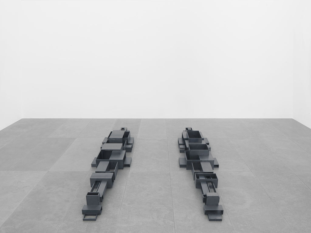 Antony Gormley,  Living Room , Galerie Xavier Hufkens. Image courtesy: Galerie Xavier Hufkens