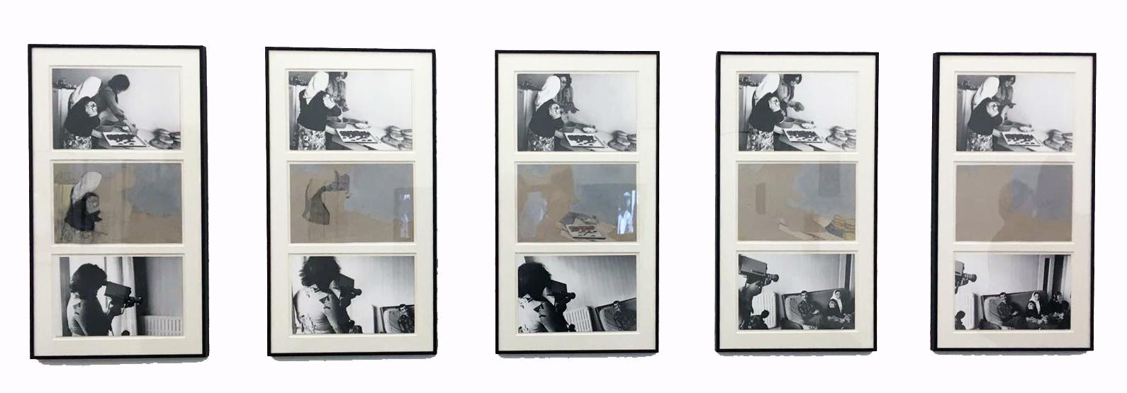 Nil Yalter,  Le Musée Absent , WIELS, vue d'exposition.