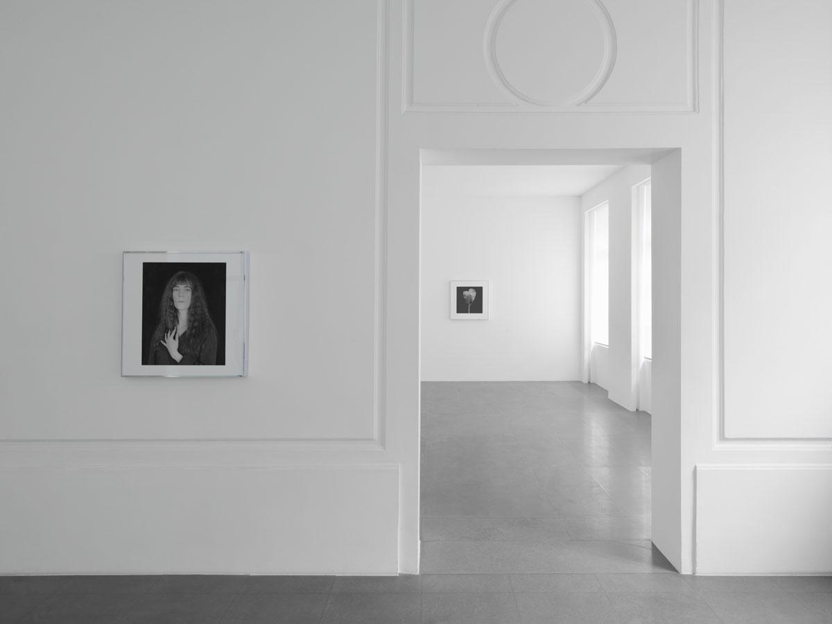 Robert Mapplethorpe,  Galerie Xavier Hufkens, exhibition view. Image courtesy: Galerie Xavier Hufkens. Photo credit: Allard Bovenberg