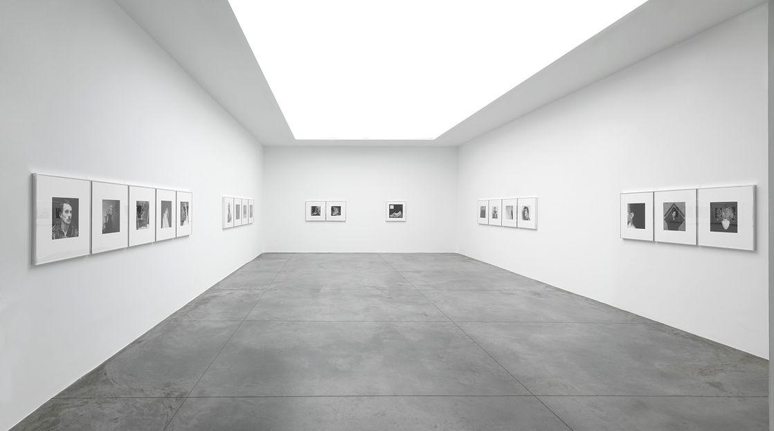 Robert Mapplethorpe , Galerie Xavier Hufkens, exhibition view. Image courtesy: Galerie Xavier Hufkens. Photo credit: Allard Bovenberg