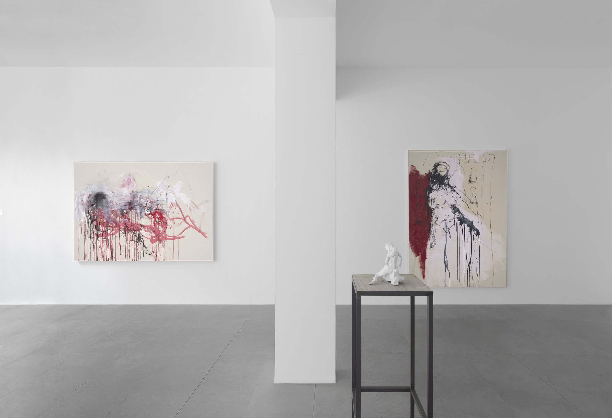 Tracey Emin, 'The Memory of Your Touch', Galerie Xavier Hufkens, vue d'exposition.Photo-credit: Allard Bovenberg, Amsterdam.Courtesy the Artist and galerie Xavier Hufkens.