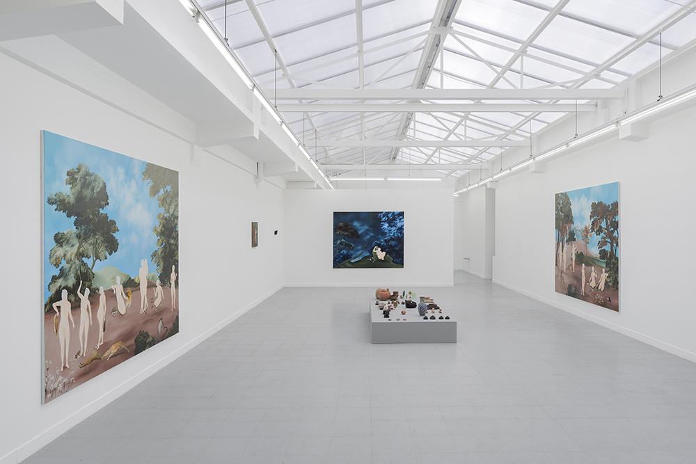 Sanam Khatibi,  Rivers in your mouth , installation view, rodolphe janssen, Brussels, Belgium 2017.Photo credit: Hugard & Vanoverschelde photography