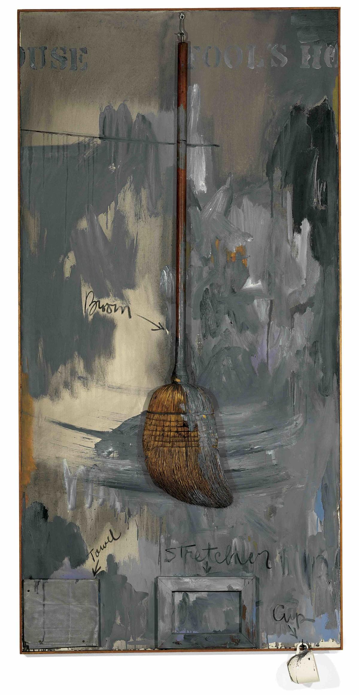 Jasper Johns, Fool's House, 1962