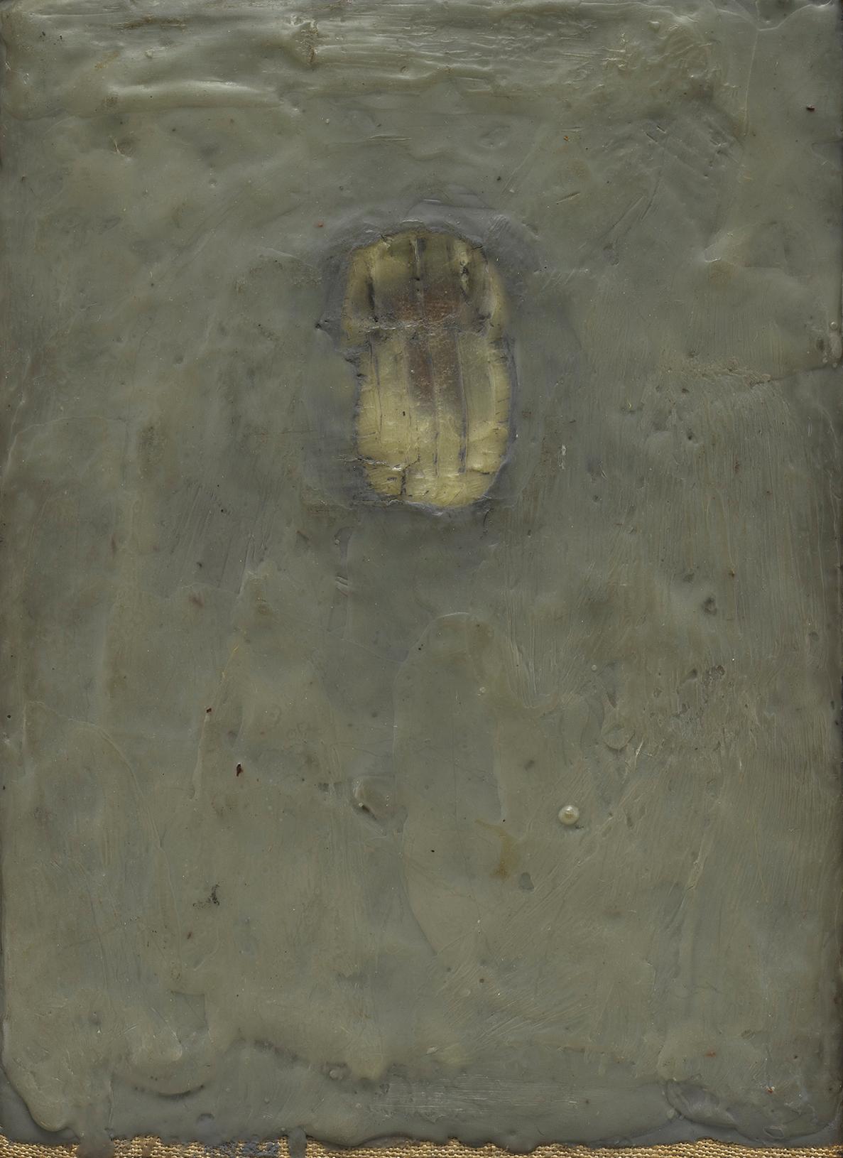 Jasper Johns, Painting Bitten by a Man, 1961