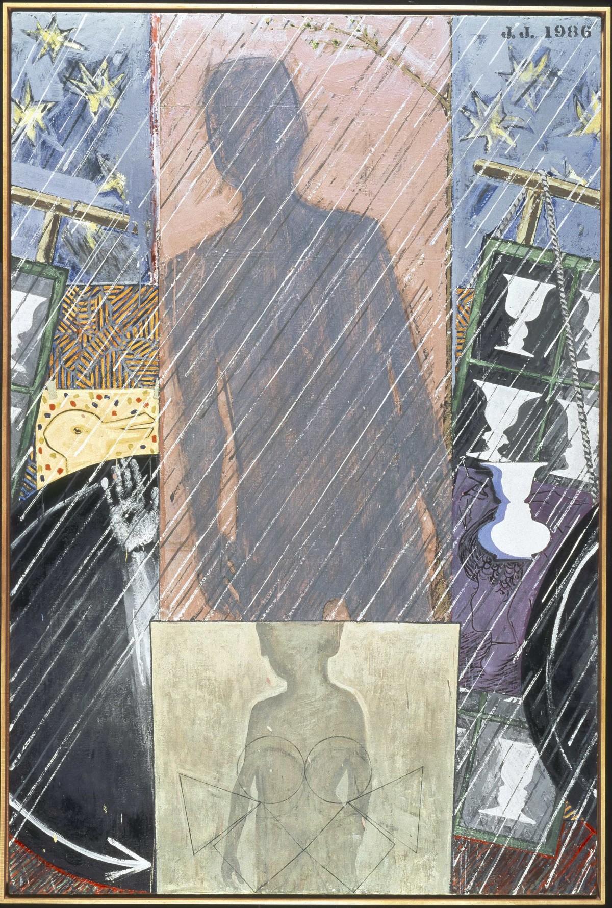 Jasper Johns, Spring, 1986