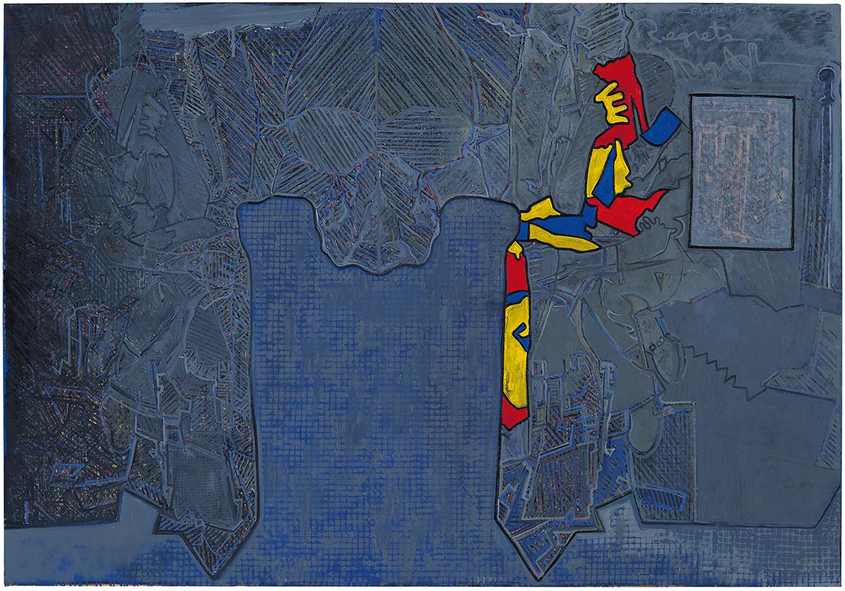 Jasper Johns, Regrets, 2013.