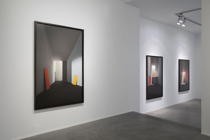 James Casebere, 'Emotional Architecture', Galerie Templon, vue d'exposition. Image courtesy: Galerie Templon