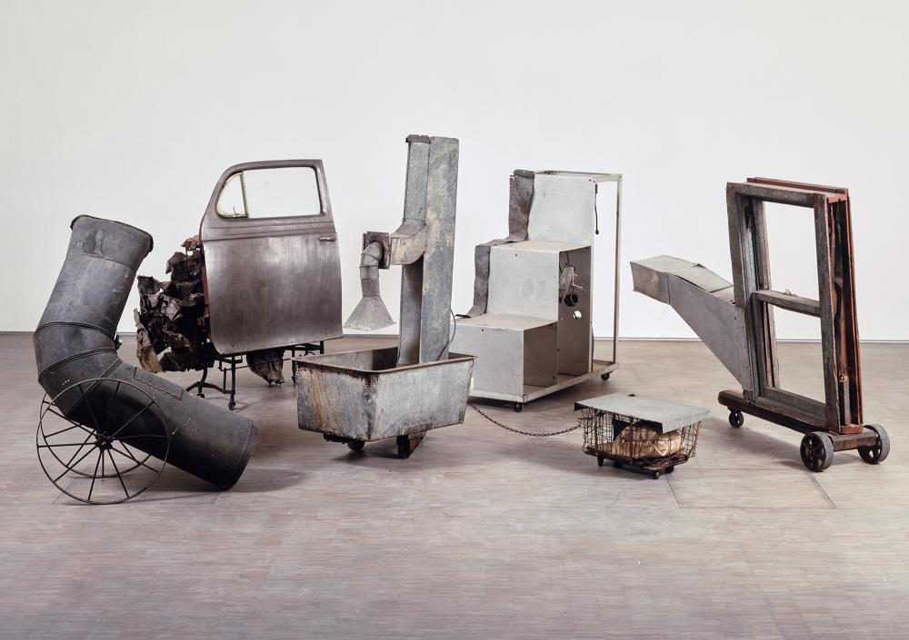 Robert Rauschenberg, Oracle, 1962 - 1965