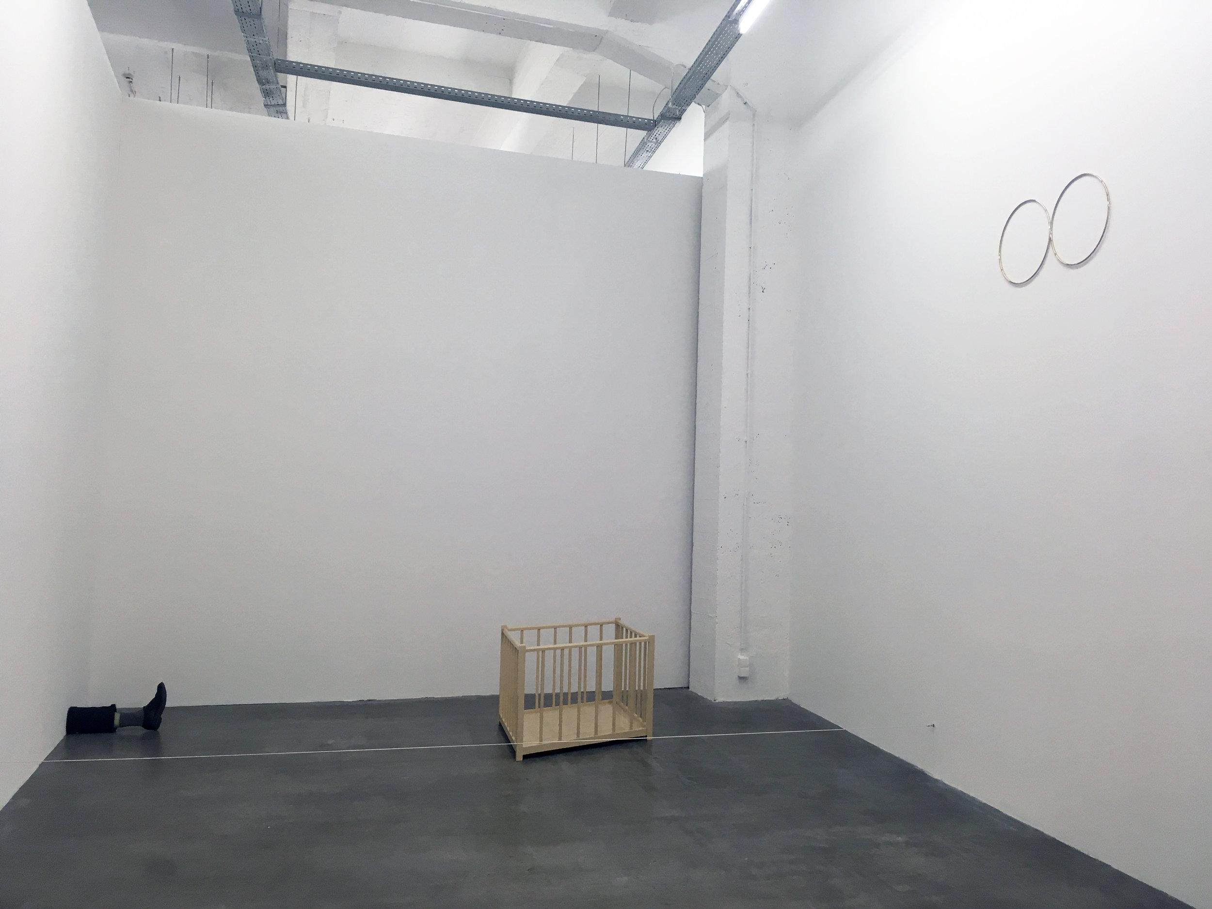 Robert Gobert et Felix Gonzalez Torres, Unexchangeable, WIELS, vue d'exposition. Photo: Zoé Schreiber