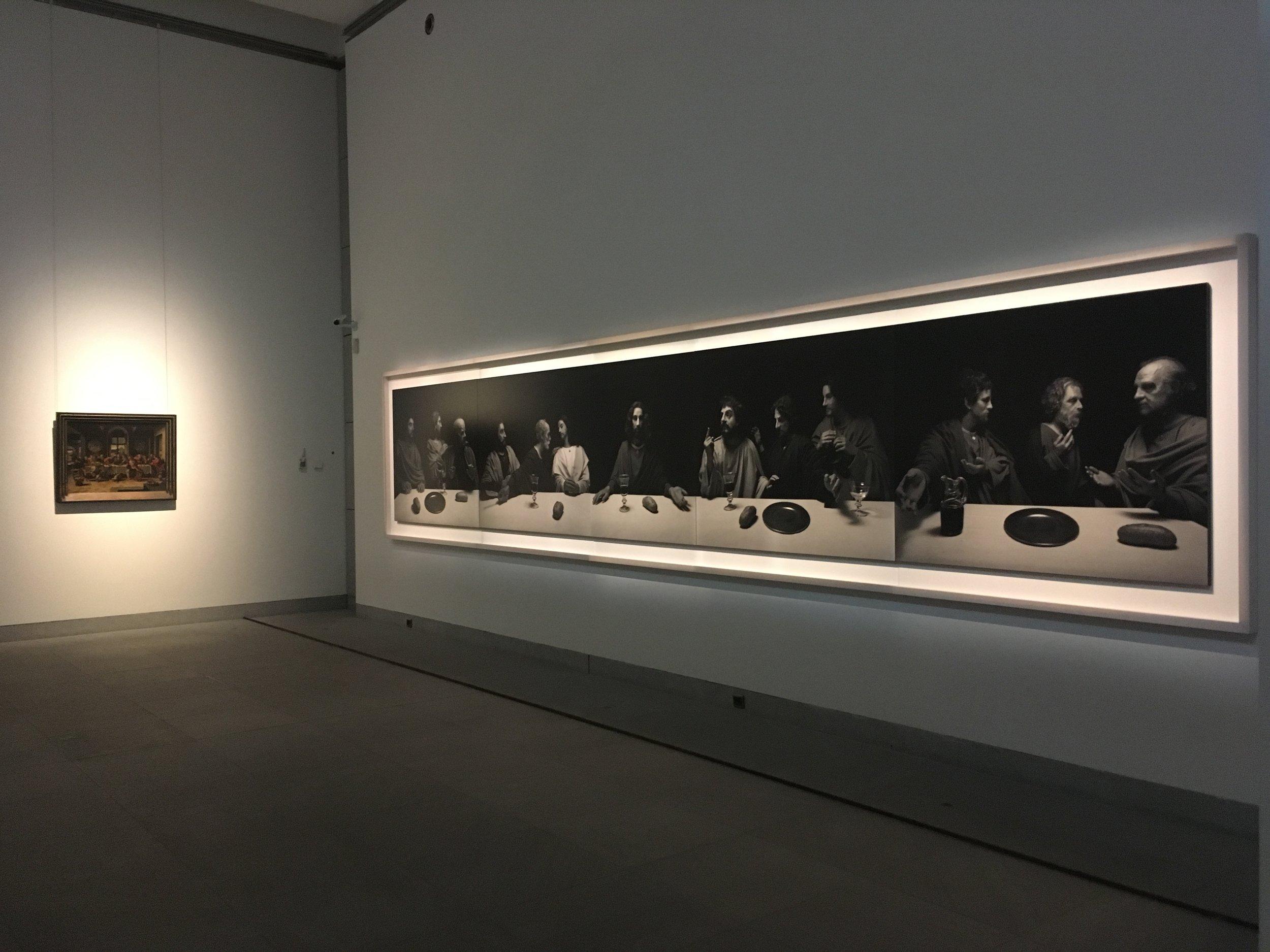 Hiroshi Sugimoto - Still Life, vue d'exposition, Musée royaux des Beaux-Arts de Belgique