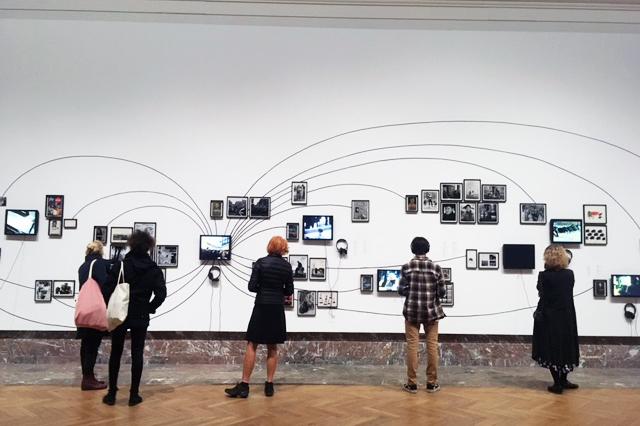 Chris Marker,  Memories of the Future , vue d'exposition, BOZAR. Photo: Zoé Schreiber