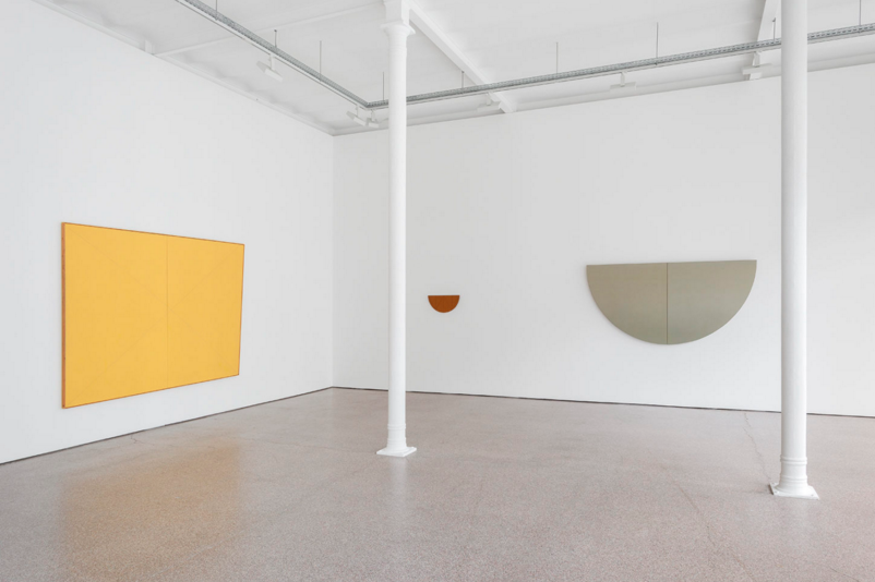 Robert Mangold, 'Works from 1967 to 2017', exhibition view, Galerie Greta Meert Image courtesy the artist and Galerie Greta Meert