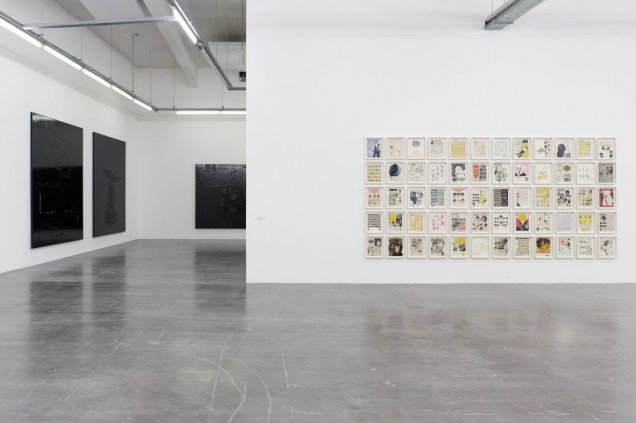 Liquid Intelligence , Ellen Gallagher with Edgar Cleijne, WIELS, exhibition view. Image courtesy: WIELS