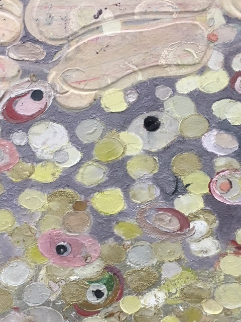 Ellen Gallagher, An Ecstatic Draught of Fishes, 2018 (detail)