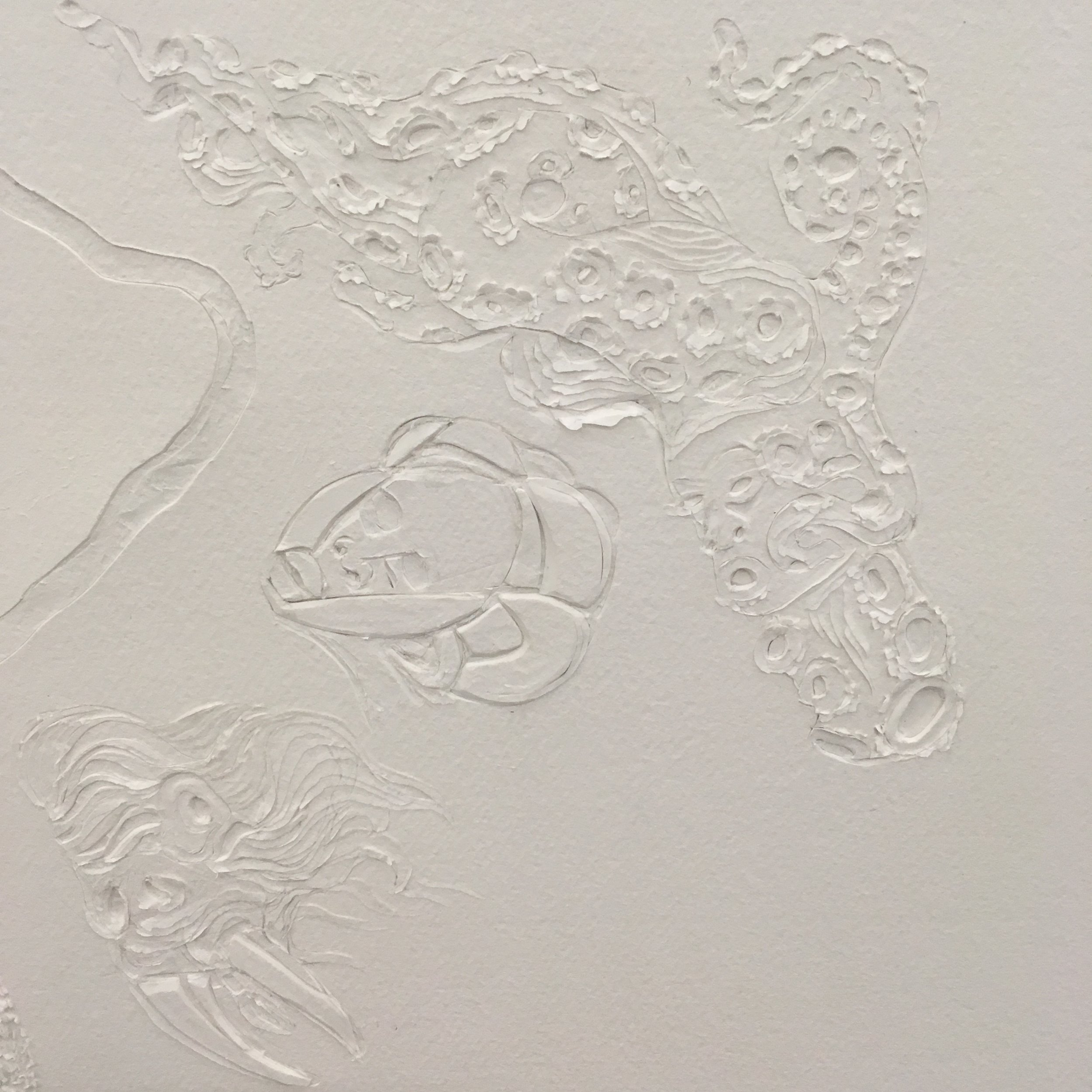 Ellen Gallagher, Watery Ecstatic, 2017 (detail)