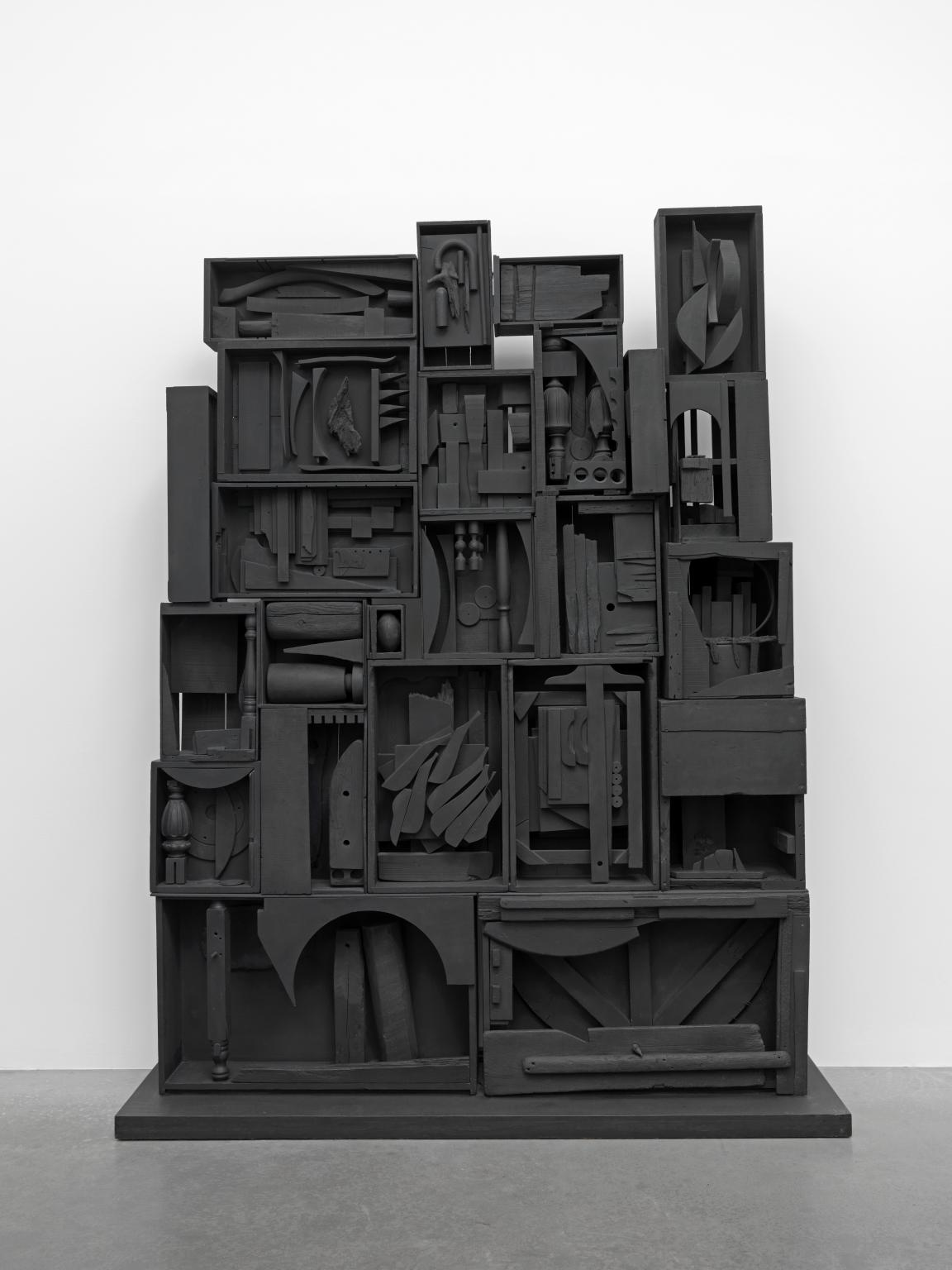 Louise Nevelson, Black Wall, 1959
