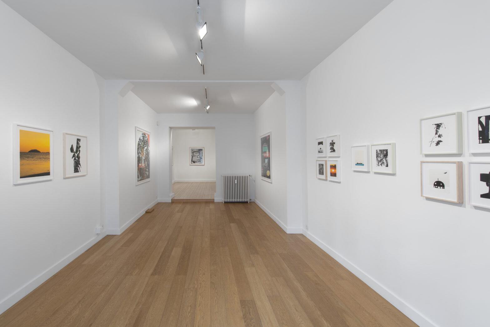 Scenic , Matthew Porter, galerie Baronian Xippas, exhibition view (33 rue de la Concorde), on view until 2 November 2019. Image courtesy Baronian Xippas