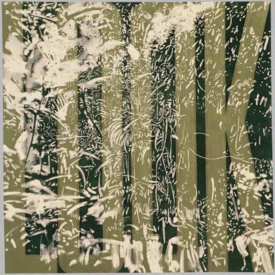 Look, 1993,  akryl, plátno, 170×170 cm