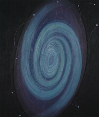 Světlušky, 2003, olej na plátně, 200×170 cm