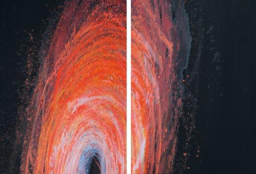 Vertigo III., 2006,  olej na plátně,  každý obraz 120×85 cm