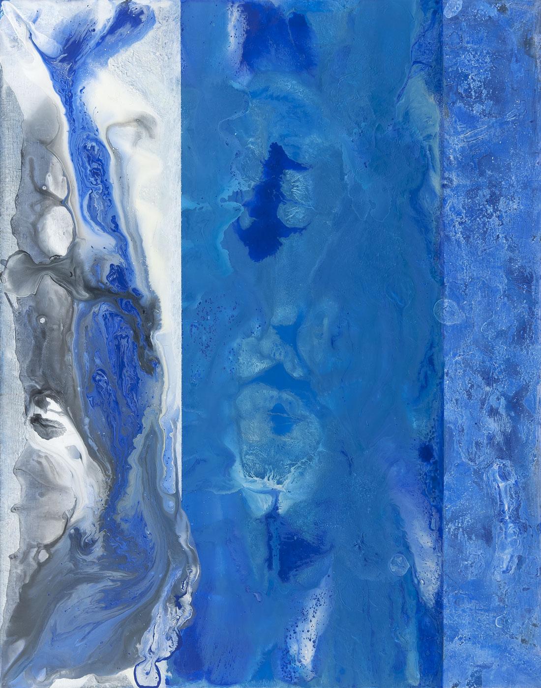 Skrytá podobizna, akryl a olej na plátně, 115x90 cm, 2016-2017