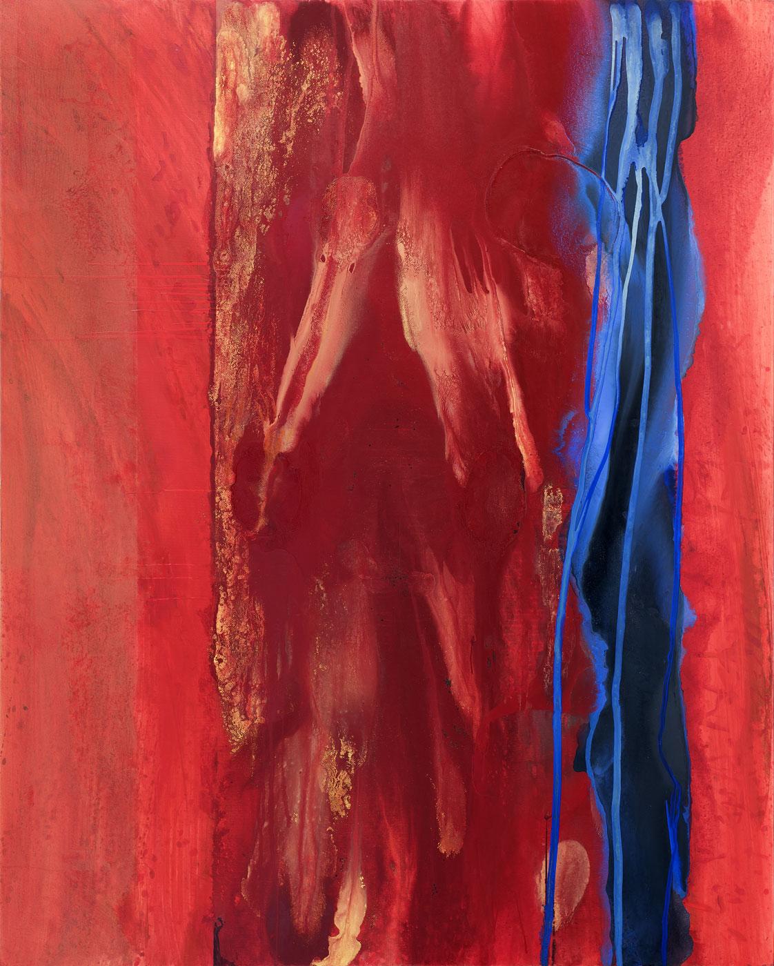 Kenya 3, 2017-2018, akryl na plátně, 270x200 cm