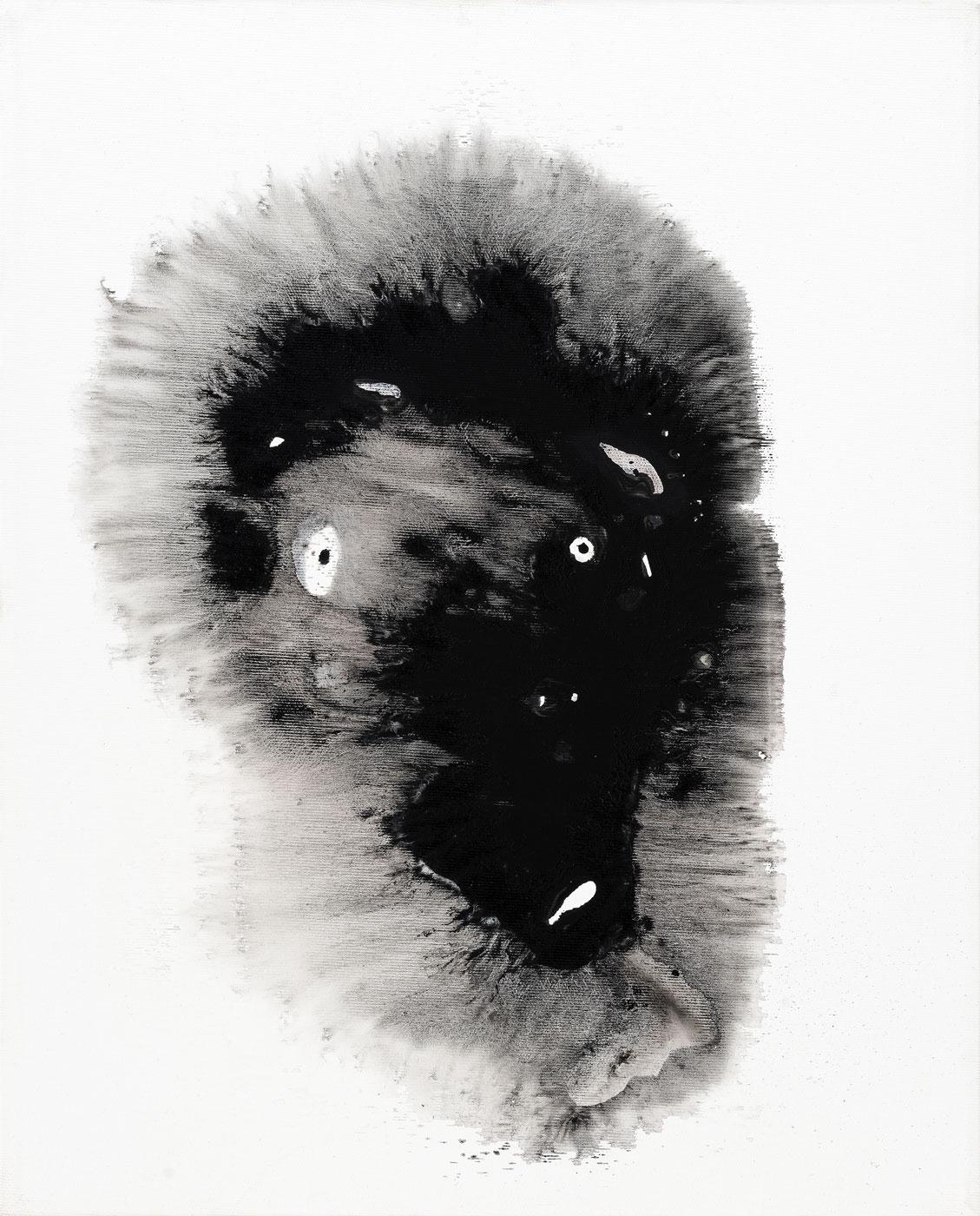 Mumie, 2014, akryl na plátně, 50x40