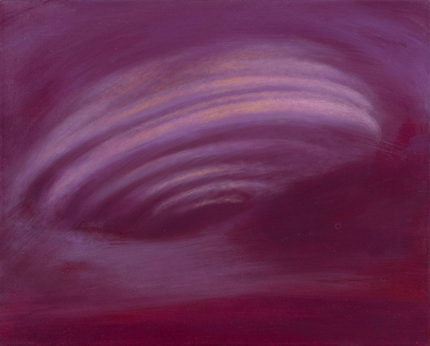 Vzducholoď, 2011, olej na plátně, 40x50