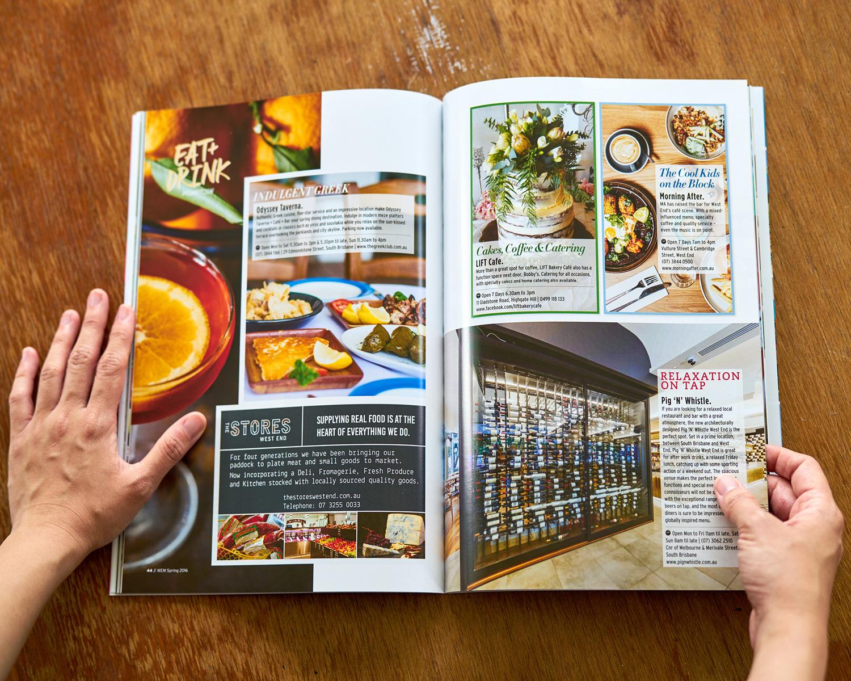 Queensland Magazines Design