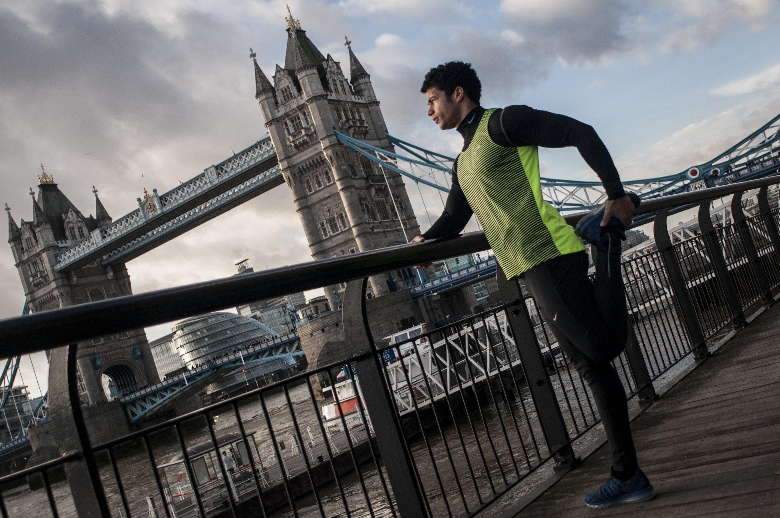 Personal Trainer London Samuel Figueroa SE1 Tower Bridge